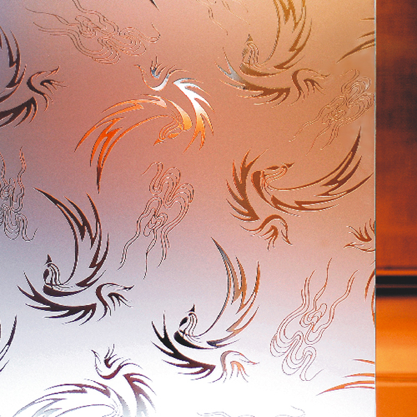 Deep etched glass for interior partition- Frosted glass -China ...