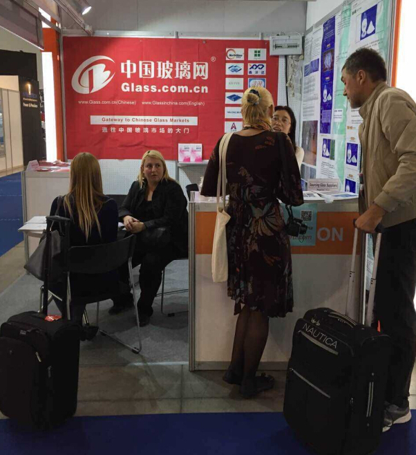 China Glass Network Gave Exclusive Live Report of Vitrum 2015