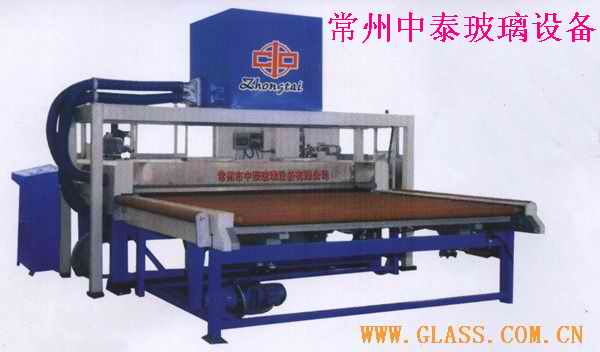 cleaning and dring glass machine