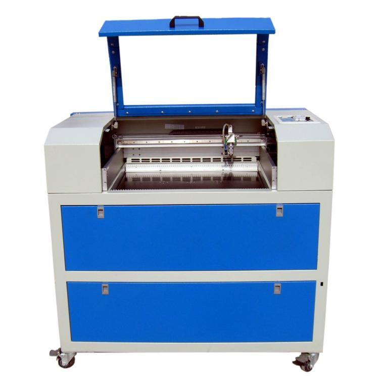 Laser handicraft engraving machine