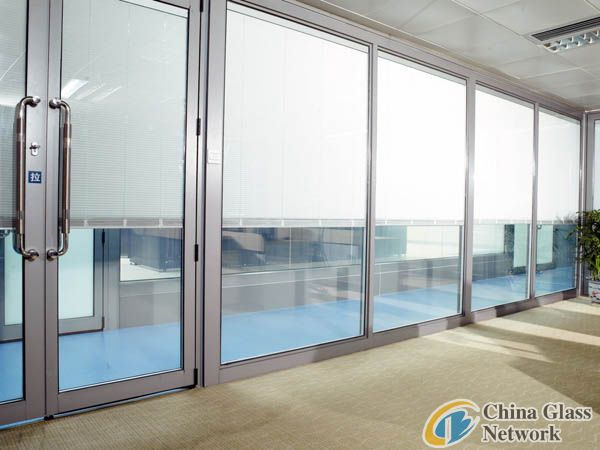 motor louver glass