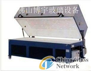 Small type glass bending furnace