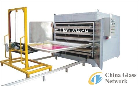 Glass vaccum laminated furnace