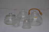 bolosilicate glass teapot