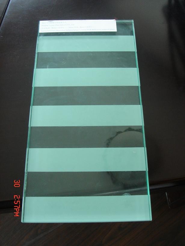 Ceramic frit glass