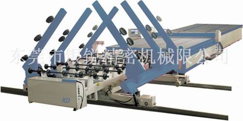 CNC automatic glass cutting process line