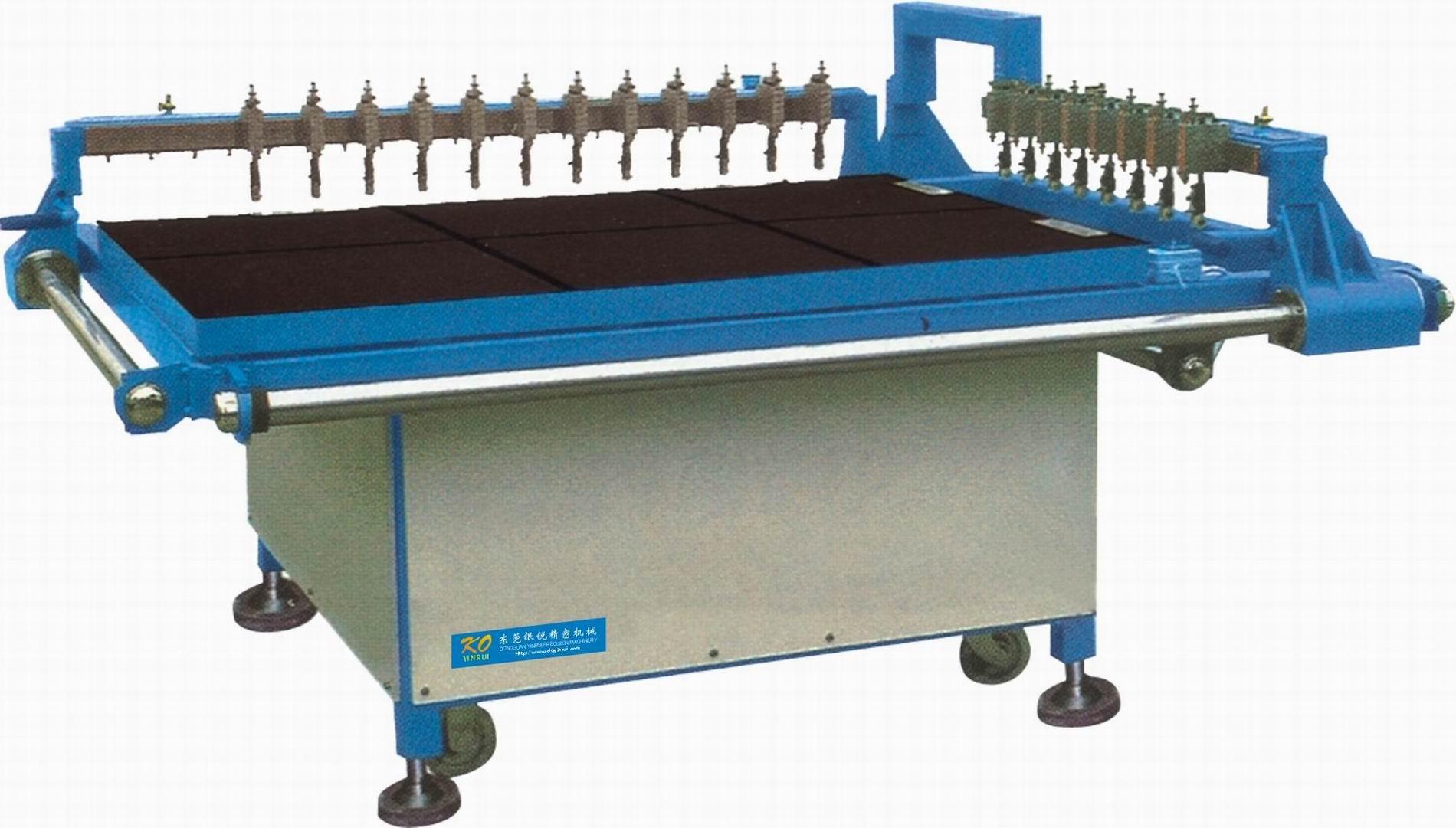 manual glass cutting machine