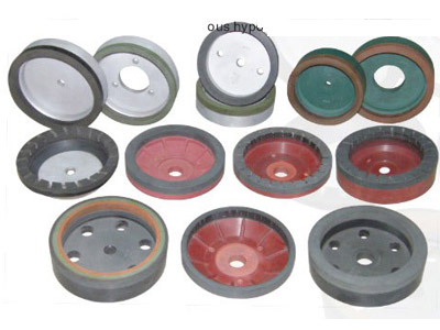 The resin wheel the glass intensive processing uses