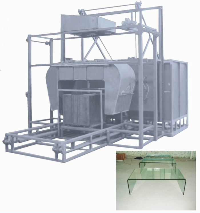 Glass table bending tempering furnace FY-CJG