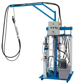 glass machine--bi-component coating machine GT-05