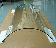 Curved or Bent tempered glass