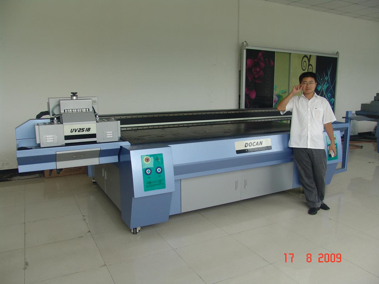 digital glass printer glass machine