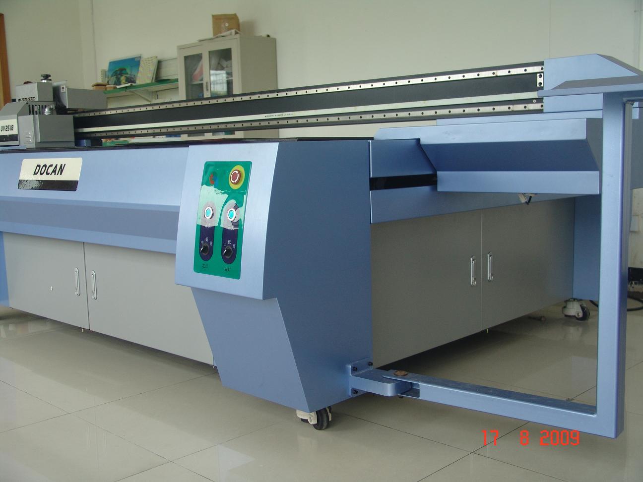 uv flatbed printer glass printer