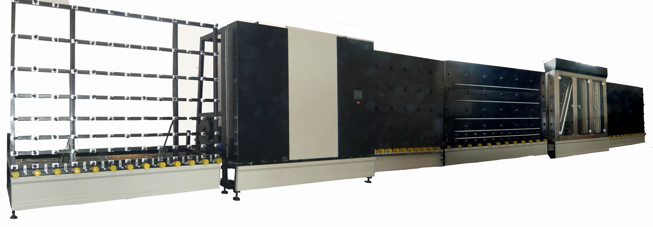 Glass Insulating machine