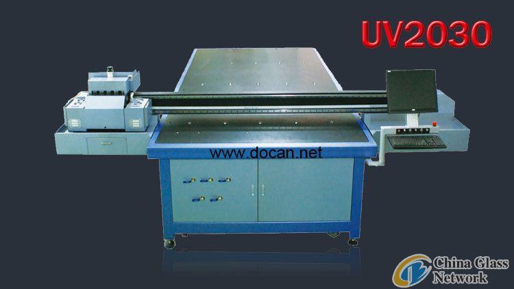 Docan uv flatbed printer 2030