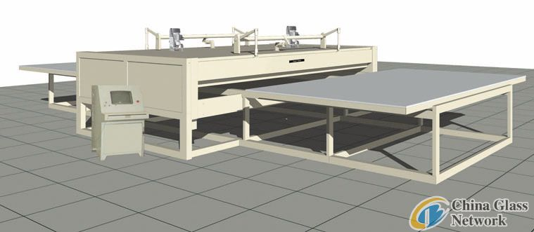 EVA glass laminating / laminated machine