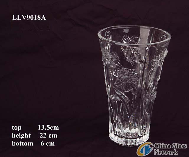 glass vase LLV9018A