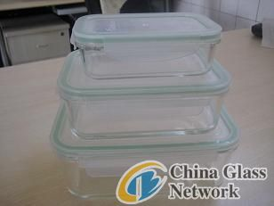 pyrex Rectangular Glass Stroage Containers