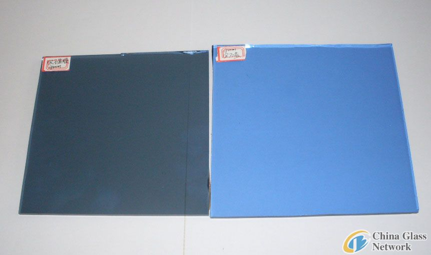 DARK BLUE FLOAT &REFLECTIVE GLASS