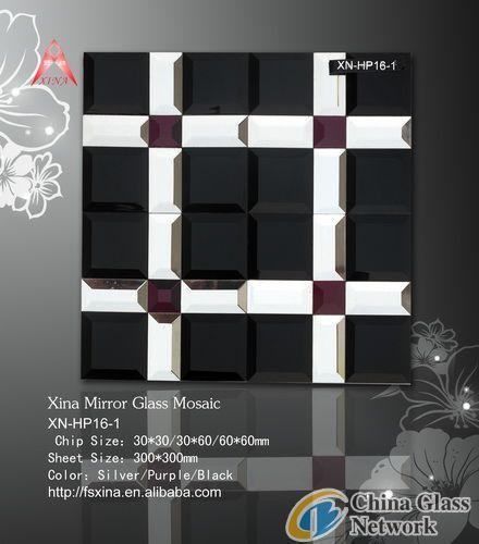 Mirror Glass Art Mosaic-Mirror Mosaic-XN-HP16-1