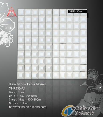 Interior Wall Decoration Material-Mirror Mosaic-XNR430-A1