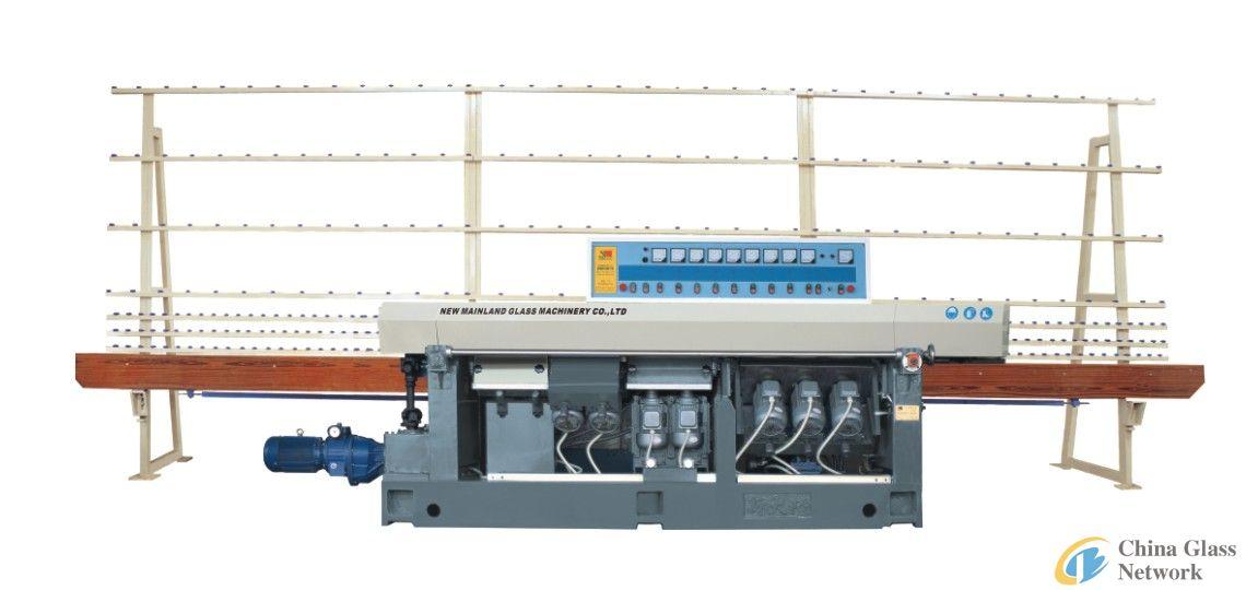 Glass straight-line edging machine