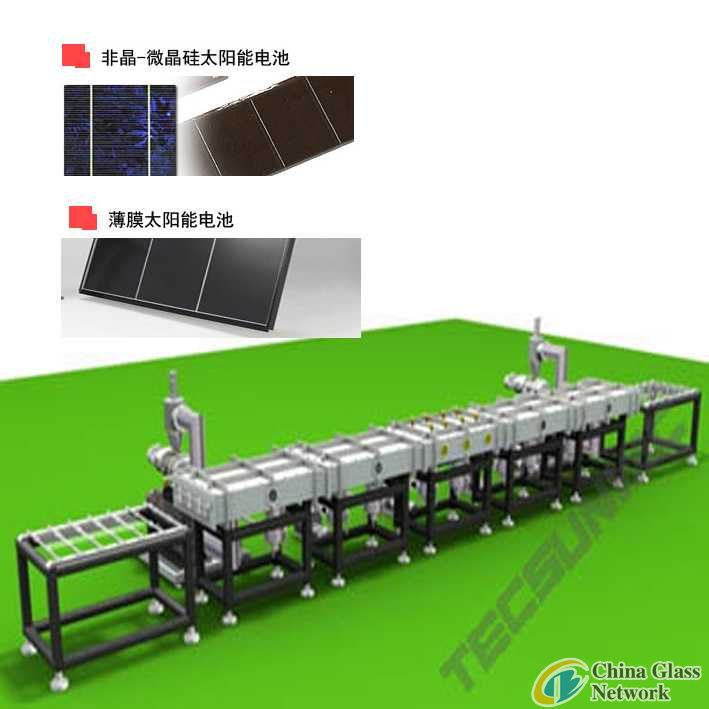 Plasma Coating Line For Amorphous Silicon Pv Solar Cells