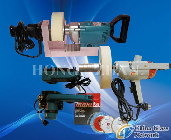 Portable polishing machine & Portable cutting machine