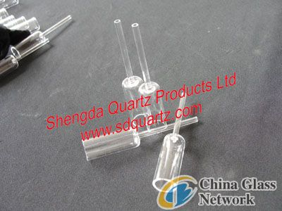 quartz glass light tube