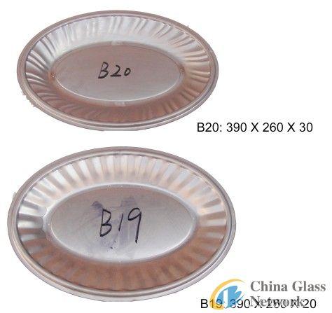 Oval mould B19 B20