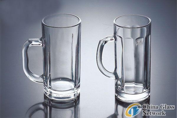export glass beer mug