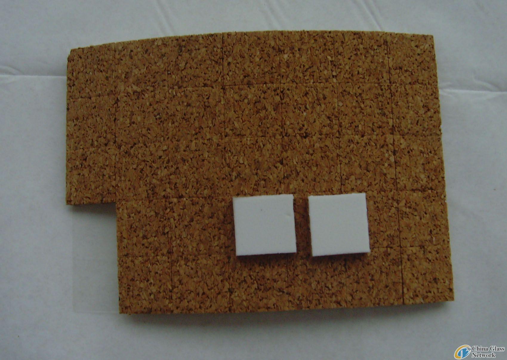 PVC cork pads