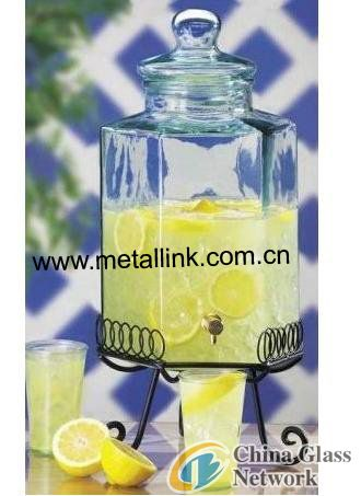 Juice Glass Jar