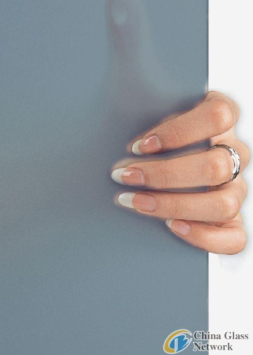 decorative acid etched glass/sandblasted glass/NFF-001