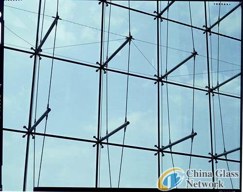 tempered glass window