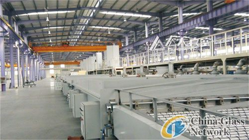 Large area color mirror magetron sputtering coating  line