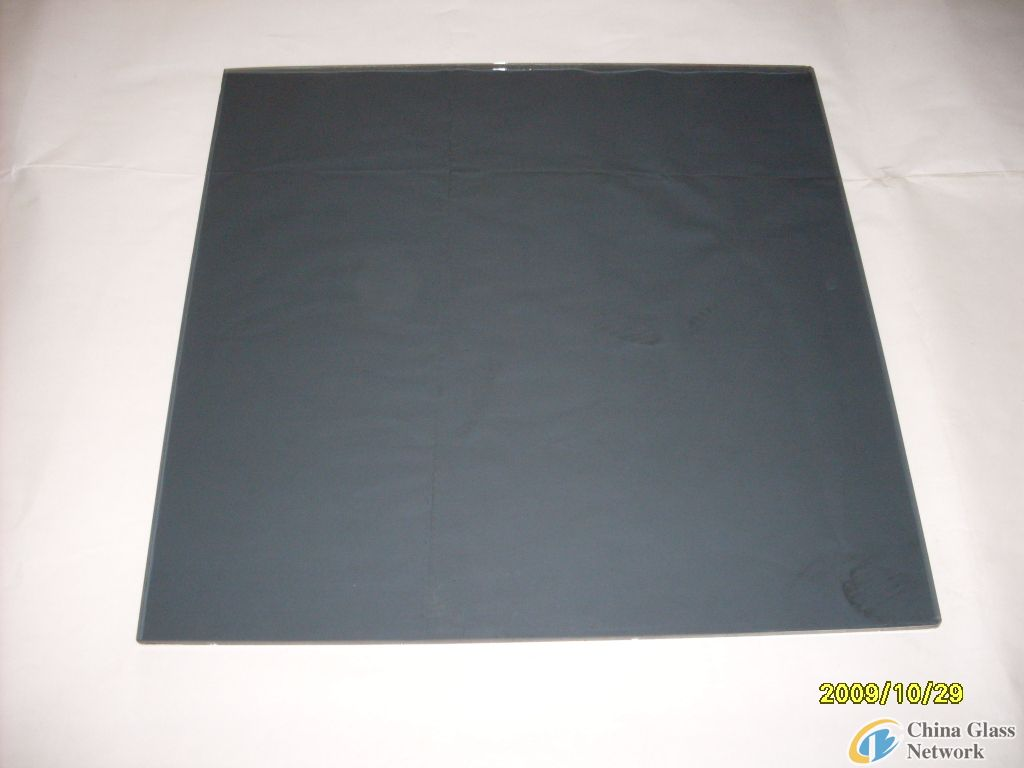5mm dark grey float glass