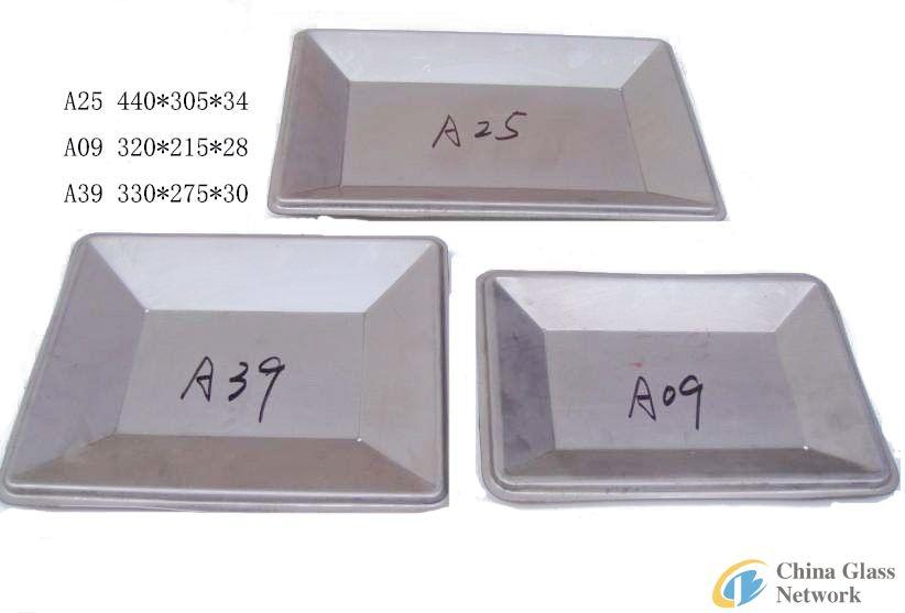 Glass fruit plate moud A09 A25 A39