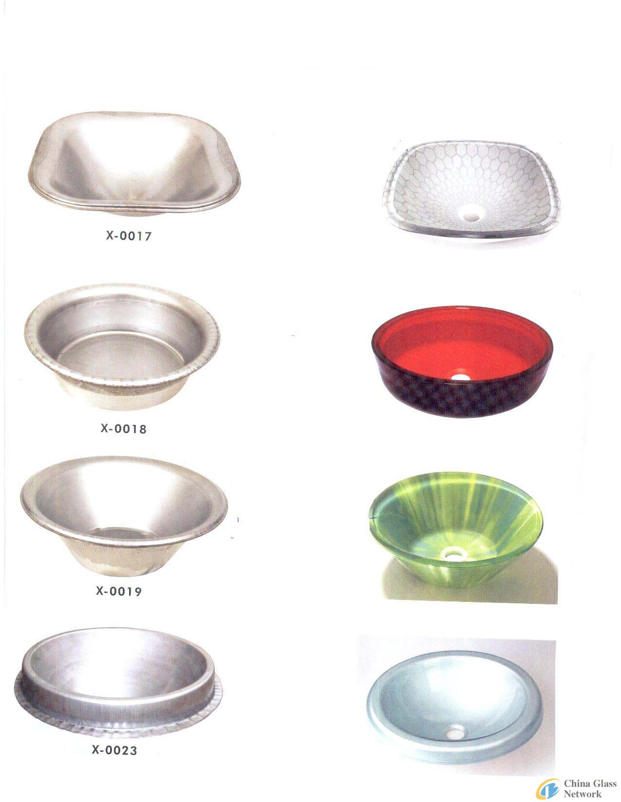 single washbasin mould