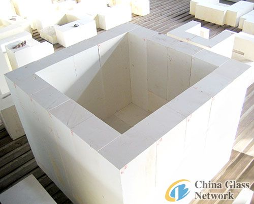 Refractory brick Fused cast AZS 36#