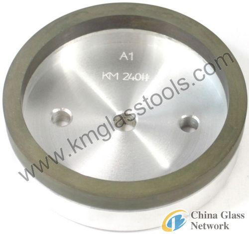 Cup Resin Wheel for Glass Straight line Edger, Mitering Machine