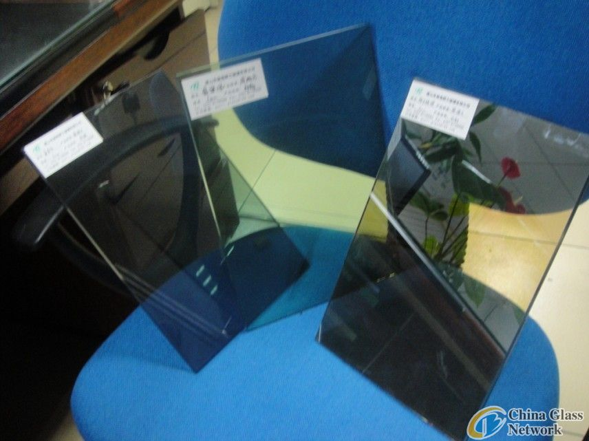 5mm-19mm different color low-e coated glass