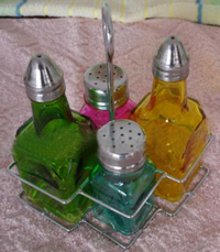 Glass bottle spice-1
