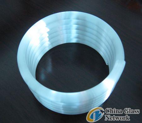 Helix quartz tube
