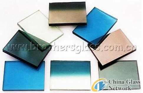 Reflective Glass (Clear, Dark Blue, Pink, Golden) (BRG007)