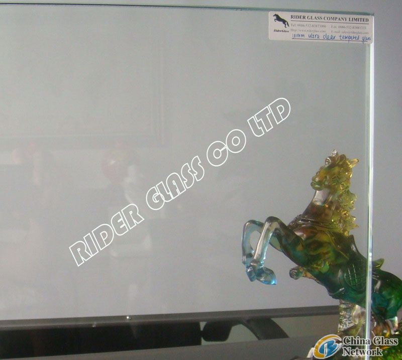 10mm Ultra Clear Tempered Glass