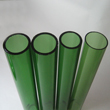 green borosilicate glass tube