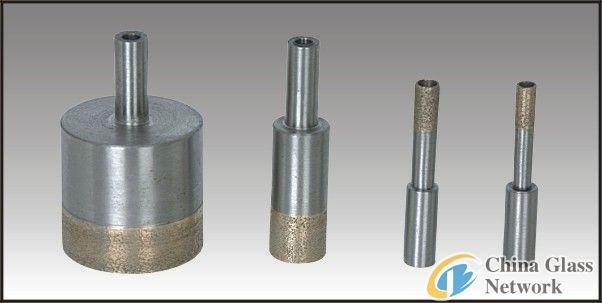 glass drill bit. 8mm straight shank drill bits/ diamond glass bits/drill bits for processing bit