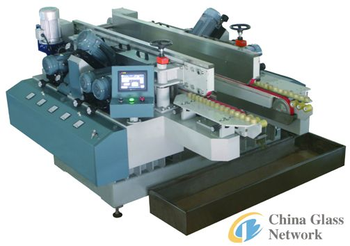 55MM Small-Glass-Sheet Double Edge Grinding Machine With High Precision
