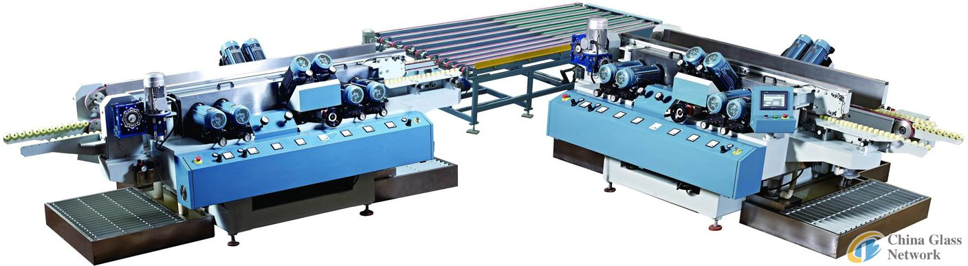 Common Glass Straight Line Double Edge Grinding Assembly Line